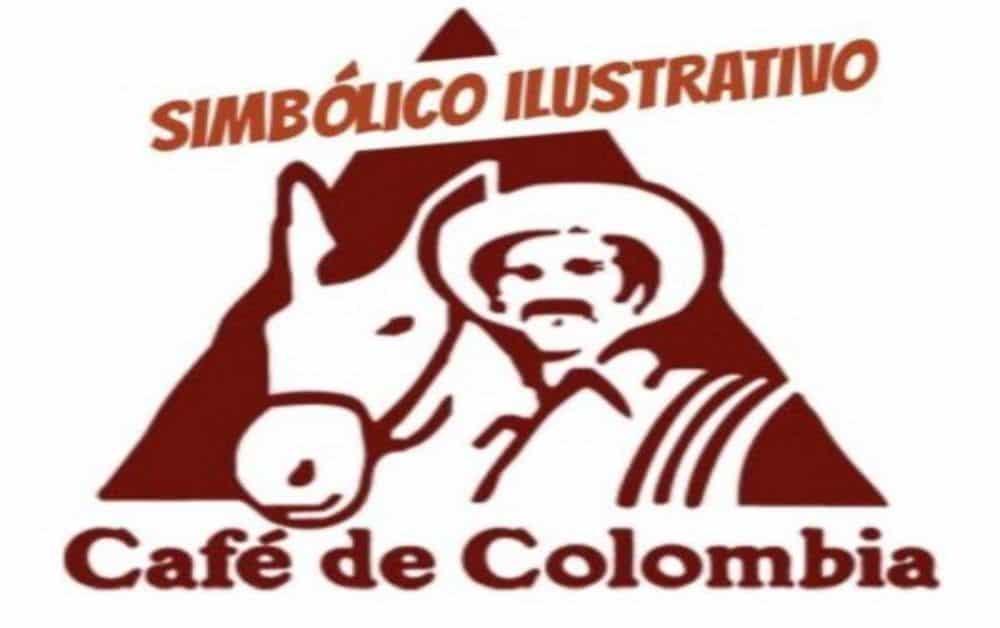 Símbolo ilustrativo café de colombia