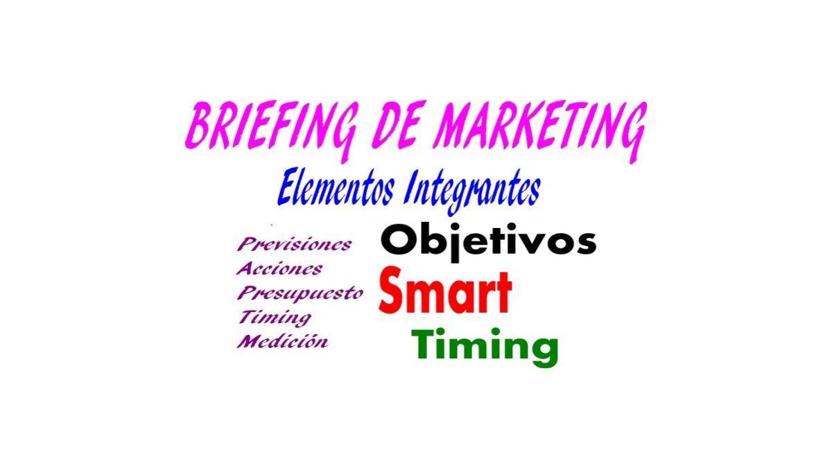 qué es y cómo se hace un briefing de marketing