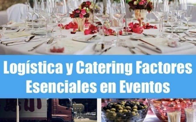 Contratación de logística y catering