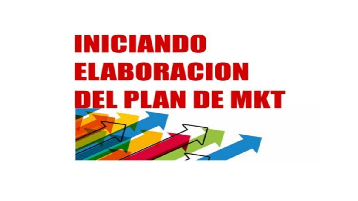 elaboración de nuestro plan de MKT