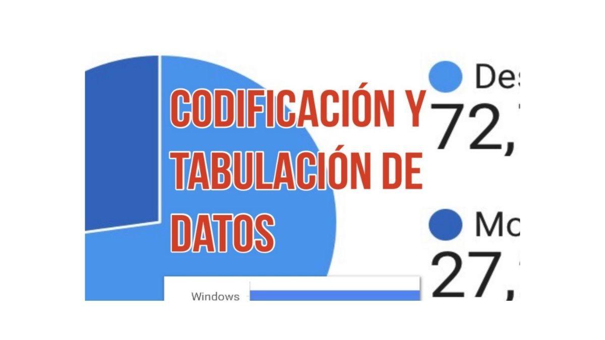 codificación y tabulación de datos