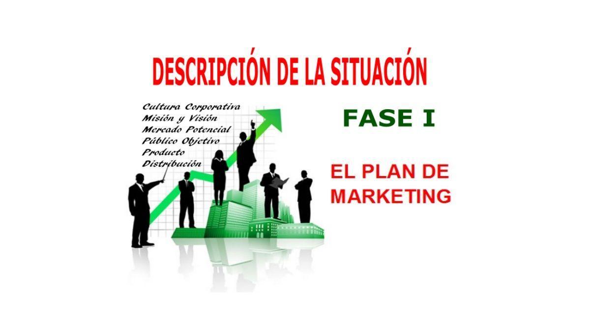 Descripción de la Situación 1a Fase del plan de MKT