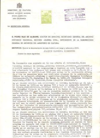 fotos antiguas de Oria oretano Joaquín Masegosa Rodriguez escuela frente popular