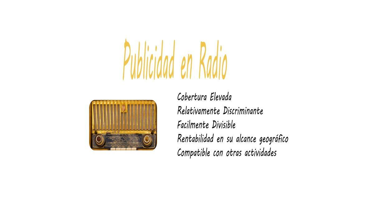 formatos de publicidad en radio