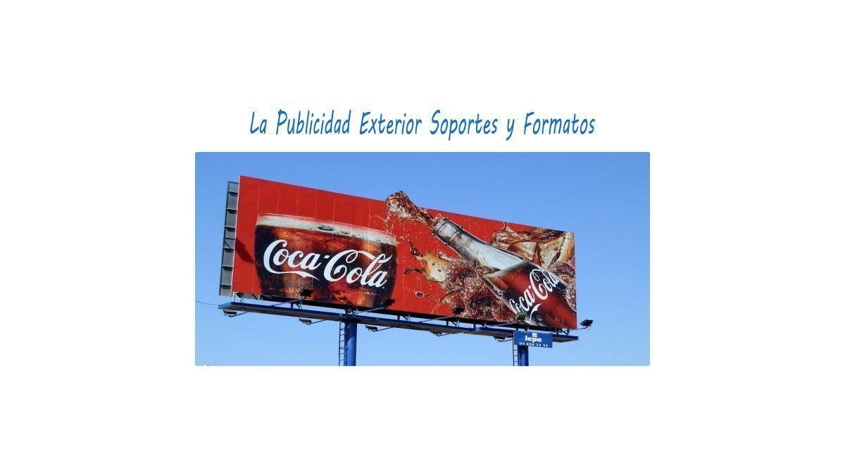 publicidad exterior soportes y formatos